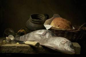 Still-life with fish