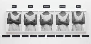 Five Day Forecast 1991 by Lorna Simpson born 1960